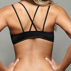 Lace Up Bandeau Bikini