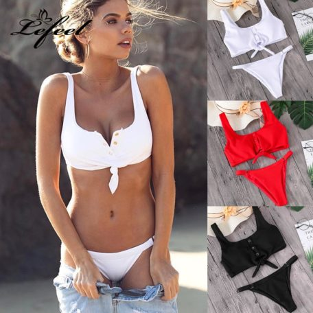 Button-Front-Knotted-Bikini-1
