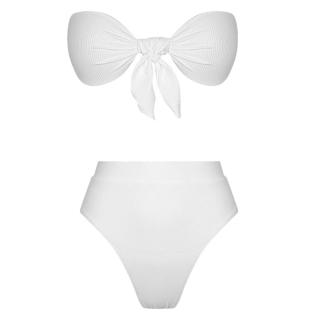 Kylie High Waist Bandage Bikini 12